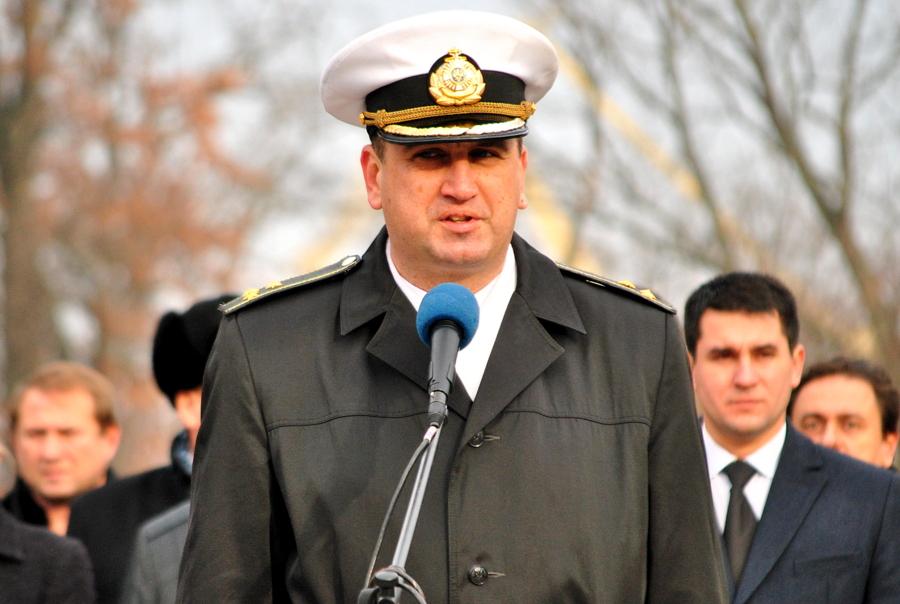 Присяга в Учебном центре ВМС