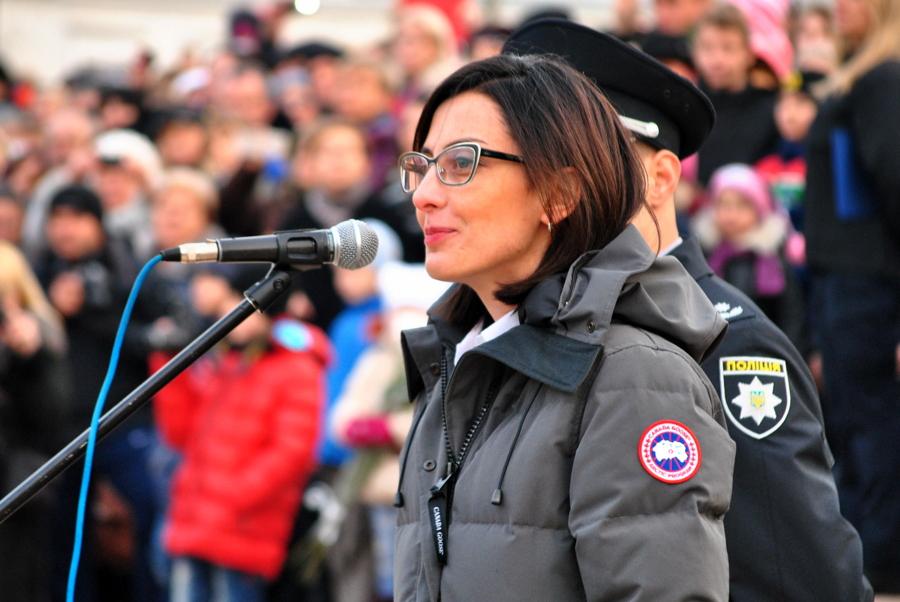 Присяга новой Патрульной Полиции в Николаеве