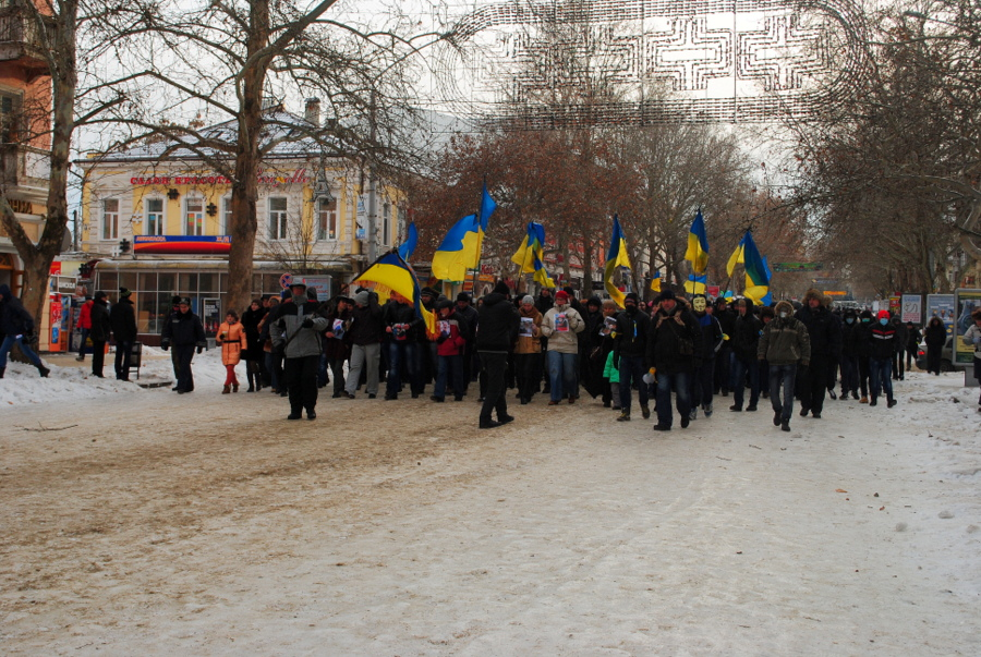 Майдан в Николаеве