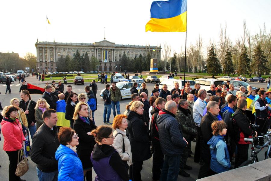 Вторая годовщина разгона сепаратистского стойла