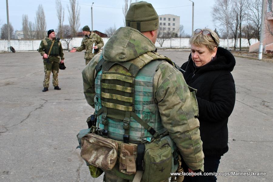 РТГр Морской пехоты отправляется в АТО