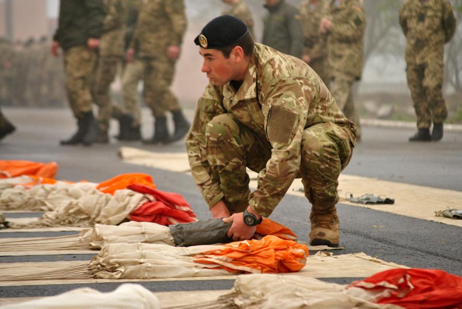 36-та Бригада морської піхоти готується до десантування