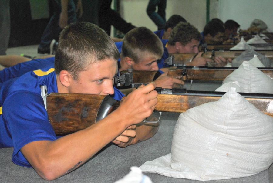 Спартакиада допризывной молодежи