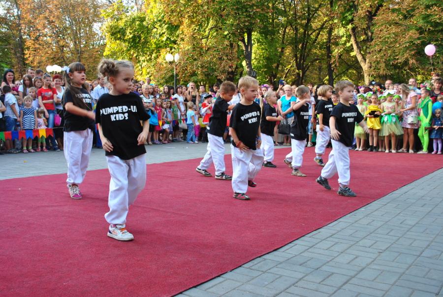 Детский концерт, посвященный Дню города Николаева
