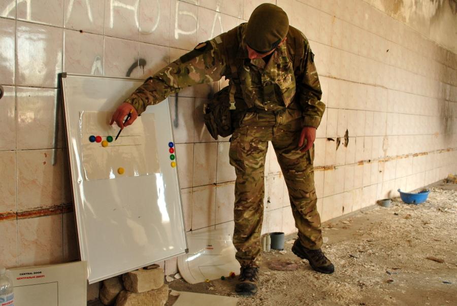 Подготовка инструкторов ВСУ