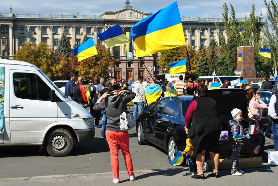 Автопробег Украина без уродов