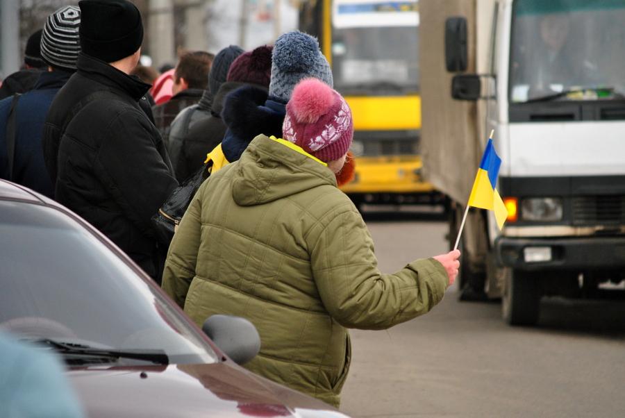 Город Николаев провожает погибших бойцов
