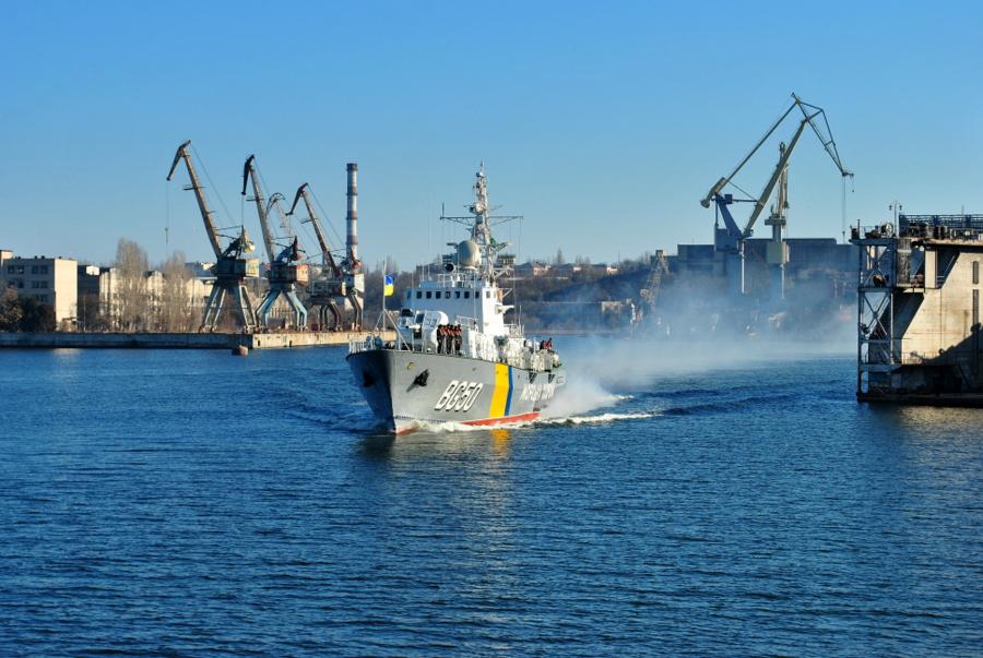 Корабль Морской Охраны Григорий Куропятников ушел на службу