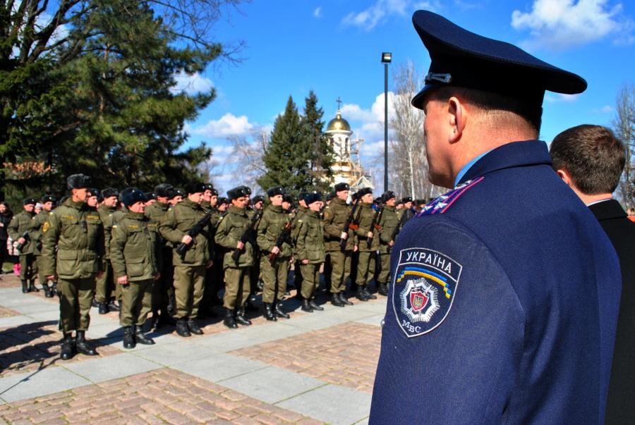 Воинская присяга бойцов Национальной Гвардии