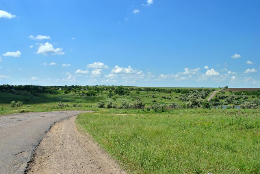 Староочаківська дорога та її околиці