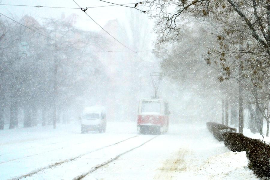 Снегопад в Николаеве как вызов для новой городской власти