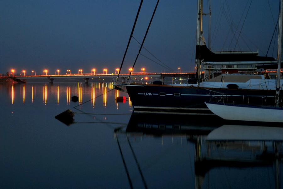 Вечер в Яхтклубе
