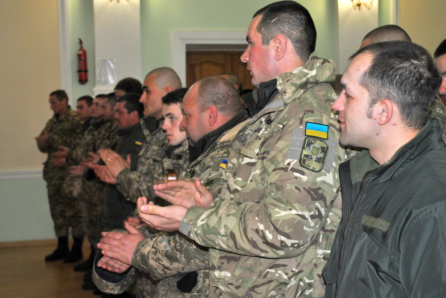 Концерт в Аграрном университете для воинов Армии Украины