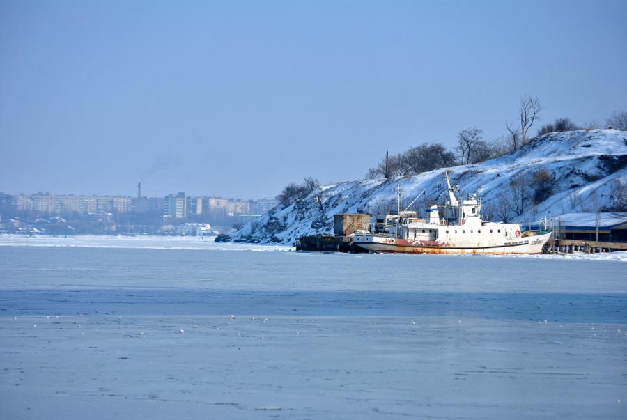 На льду Южного Буга
