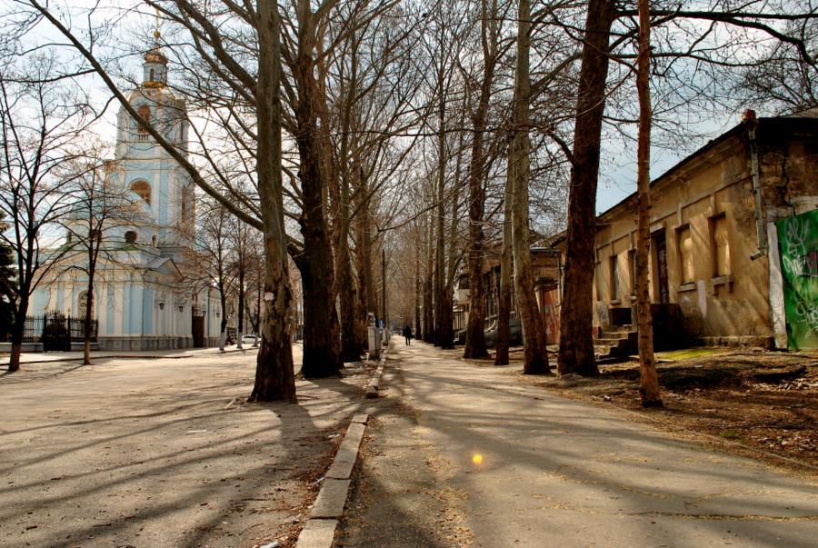 На ул. Лягина