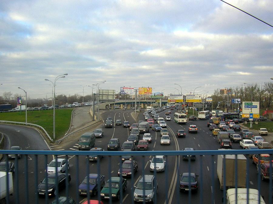 Из Николаева в Москву и обратно. Волоколамское шоссе