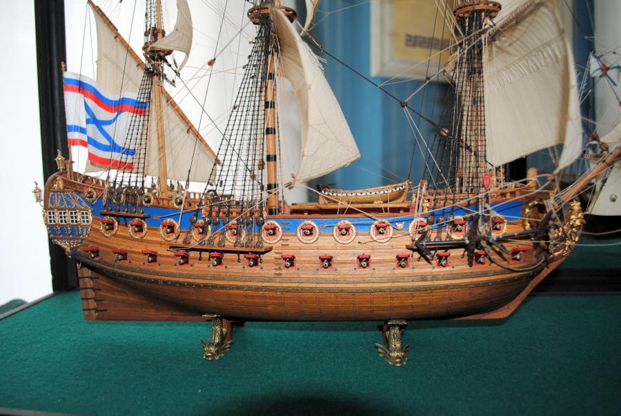 Модели кораблей команды Постыкина